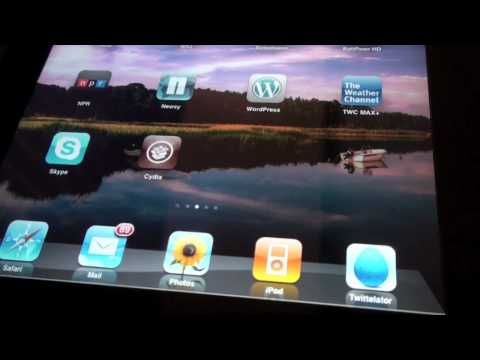 How to Jailbreak iPad Firmware 3.2 Using Spirit! Untethered, Easy, Detailed, Free!
