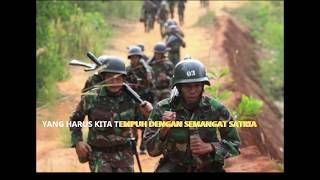 MARS LONG MARCH INFANTERI TNI AD Indonesian Army