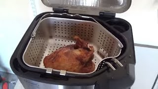 How to fry a Turkey - Butterball Indoor Electric Turkey Fryer 🍗