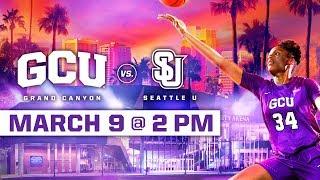 GCU Women's Basketball vs. Seattle U March 9, 2019