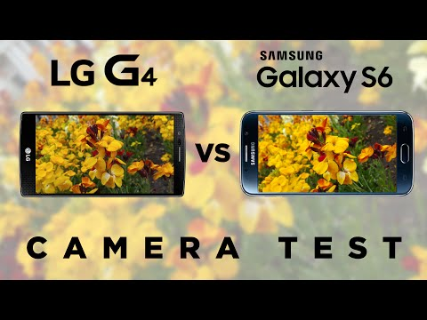 LG G4 vs Samsung Galaxy S6 Camera Test Comparison | SuperSaf TV