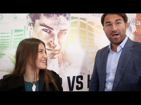 'GET ME RONDA ROUSEY IN THE RING!' - KATIE TAYLOR ON PRO-DEBUT- NOV 26, EDDIE HEARN & CONOR McGREGOR