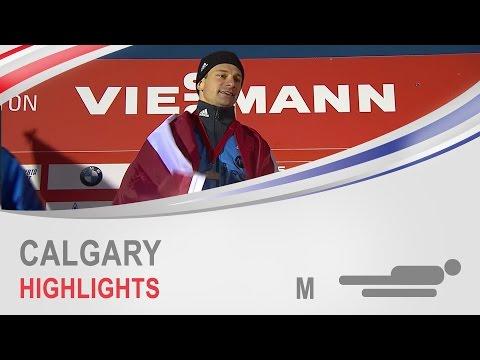 Calgary Highlights | Men's Skeleton World Cup Tour 2014/2015 | FIBT Official