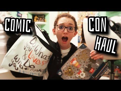 disney-comic-con-haul!-pins,-disney-food,-and-retro-merchandise!-rare-&-limited-edition