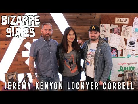 BIZARRE STATES / Jeremy Corbell talks about Skinwalker Ranch & recent UFO releases by the Pentagon