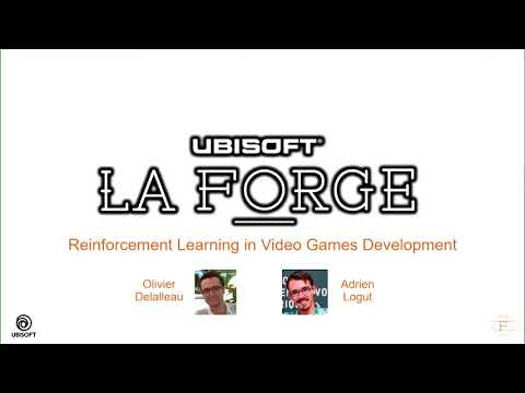Deep Learning Montréal @ Autodesk – Ubisoft Laforge and some AI and Machine Learning projects
