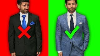 5 Suit Mistakes MOST Men Make! (& How To Fix Them)