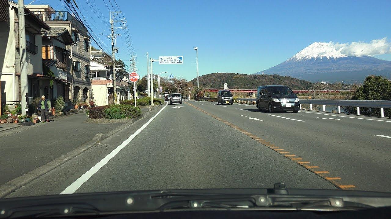 4K 静岡県道10号→190号→国道52号...