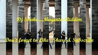 Zumba Fitness   Dj Snake Magenta Riddim   Fitness Dance Choreography  Blooming Bud   Zin Ankit  