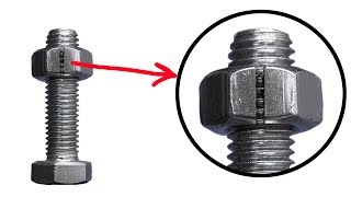 Why cut the nut? Handyman Secrets. Cool Useful Tips.