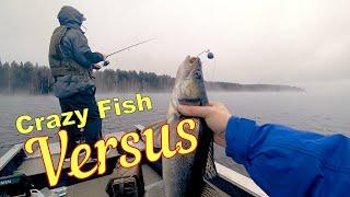 Crazy Fish VERSUS Рыбалка на спиннинг 2021 года Первые впечатления