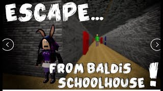 Baldi's Basics Education and Learning ROBLOX GAMEPLAY