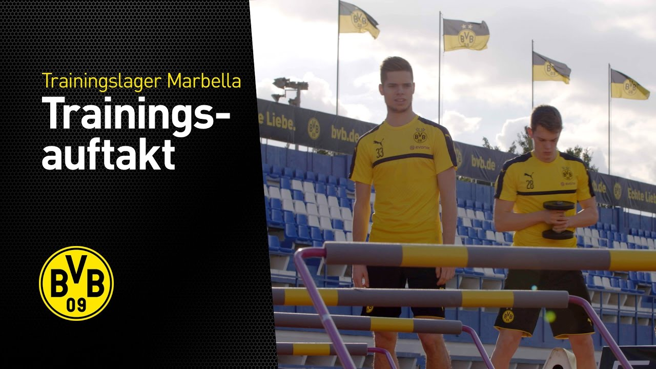 Erstes Training in Marbella | Trainingslager in Marbella 2017