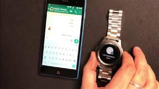 WhatsApp auf der Samsung Galaxy Watch: So antwortet man