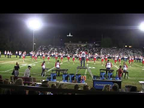 Bountiful High School Homecoming Band Performance 2018
