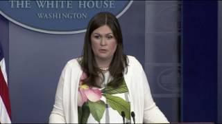 Huckabee Sanders says Trump will let Comey testify, defends travel ban tweets