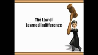 Free Dog Training Tips - Learned Indifference Video