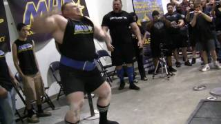 Benedikt Magnusson 1015 lbs raw deadlift