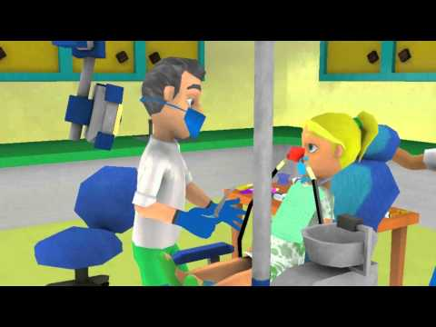 Jessica gets a Cavity Filled with Nitrous and Dental Anesthesia - full program only on ditto (us)