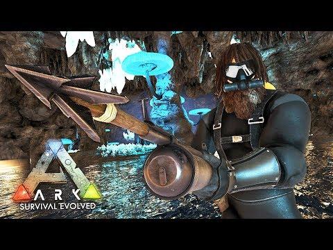 ARK: Survival Evolved - EXPLORING UNDERWATER CAVES!! (ARK Ragnarok Gameplay)