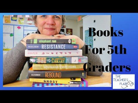 Books For 5th Graders (Kid Favorites)