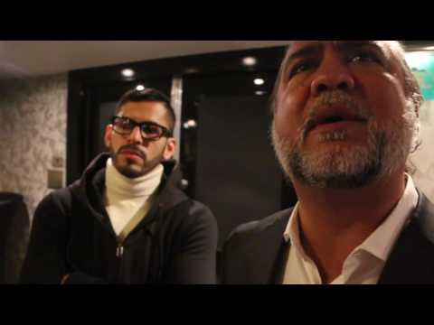 APPLES 'N' PEARS!!  - JORGE LINARES ATTEMPTS COCKNEY-RHYMING SLANG! / TALKS ANTHONY CROLLA REMATCH