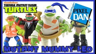 Mummy Leo Teenage Mutant Ninja Turtles Monsters and Mutants Figure Video Review