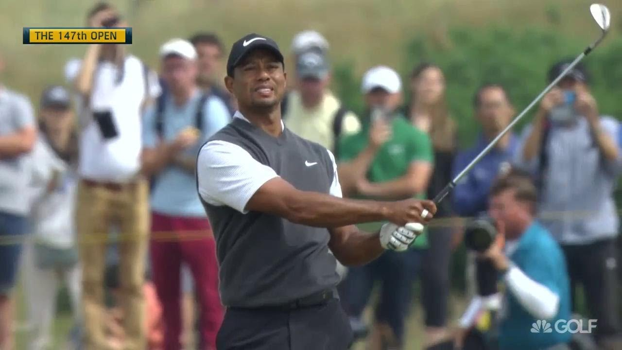 The Open Championship 2018 Highlights: Tiger Woods lurking after Round 3 at Open - YouTube