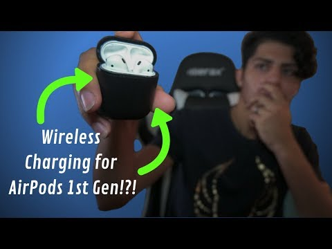 Wireless Charging On Airpods 1st Gen Alternative To Apple S