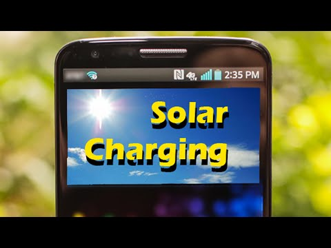 Project: Solar Cell Phone Charger