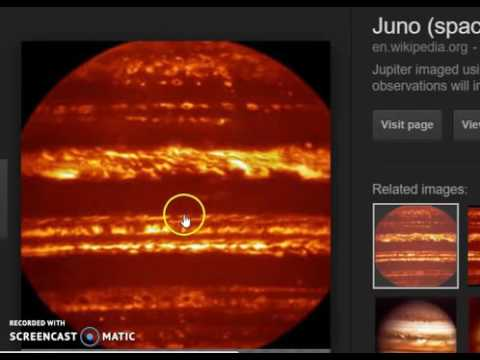 Juno picture of Jupiter Pole finally released