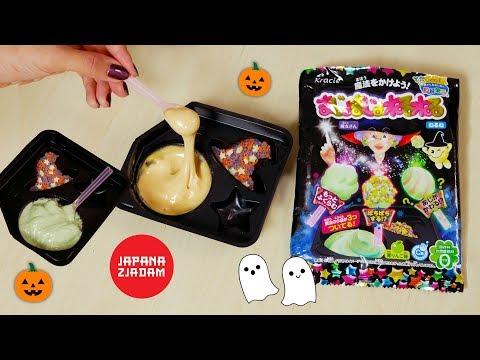 Halloweenowa Gęsta Mega Pianka! - Japana Zjadam #116   Agnieszka Grzelak Vlog
