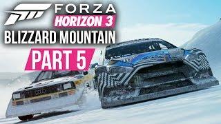 Forza Horizon 3 Blizzard Mountain Gameplay Walkthrough Part 5 - CRAZY SPEED CAMERA RUN