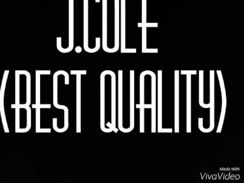 J.cole - The Cure(Best Quality)