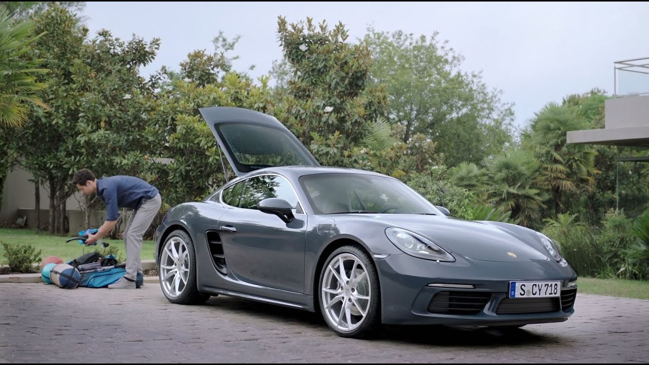 How Much Can You Fit In A 718 Cayman Youtube