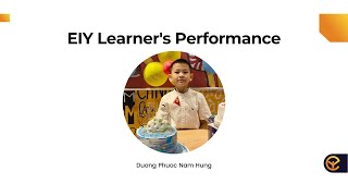 EIY - Why should Public Speaking become a main subject in school? Duong Phuoc Nam Hung