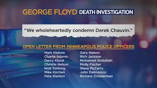 Minneapolis Police Officers Pen Open Letter Condemning Derek Chauvin, Embracing Reform