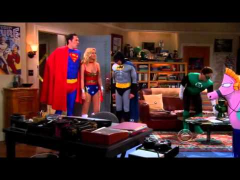 The Big Bang Theory - The Gang All Dressed Up As The Justice League & The Big Bang Theory - The Gang All Dressed Up As The Justice League ...
