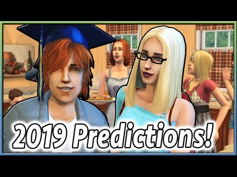 2019 PREDICTIONS For The Sims 4! 🤔 thumbnail