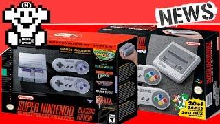 Super Nintendo: Classic Edition offiziell angekündigt!!! - NerdNews #145
