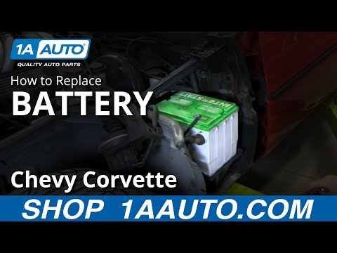 1990 Chevy Ecm Wiring Diagram How To Install Replace Dead Battery 1984 96 Chevy Corvette