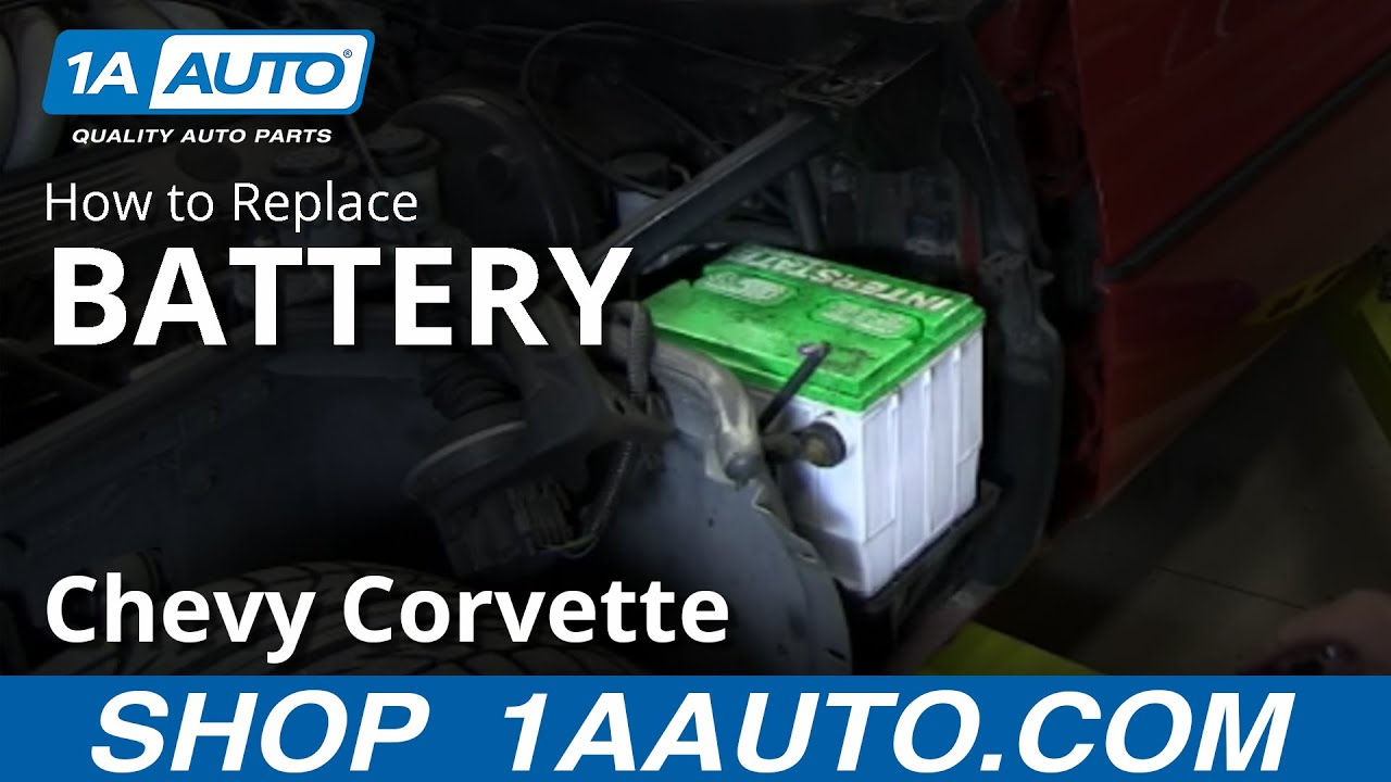 How To Replace Battery 84 96 Chevy Corvette Youtube