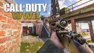 Collateral! M1903 ACOG Sniping - Call of Duty: WWII PC Gameplay