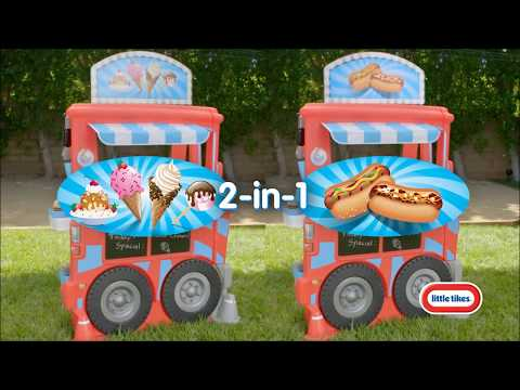 Little Tikes 2-in-1 Food Truck | Product Demo