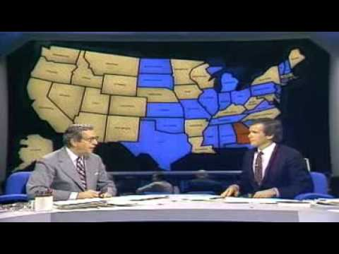 NBC News Decision 1980 Reagan Wins