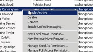 Exchange 2010 Training - Module 03 Lesson 04 Disabling Vs Removing An Exchange 2010 Mailbox User