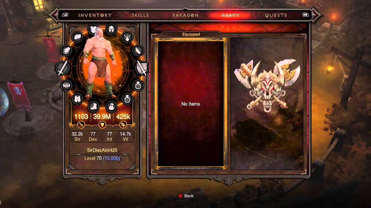Easy way to get modded gear in Diablo 3