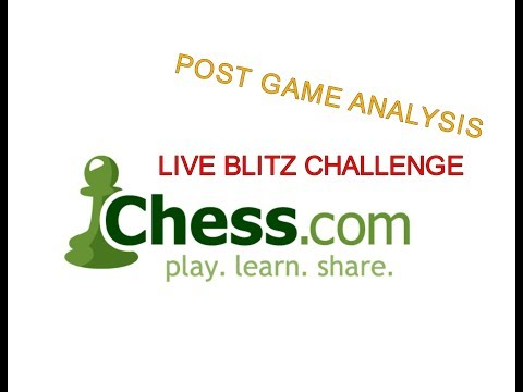 Post game analysis 1   - Chess Lessons