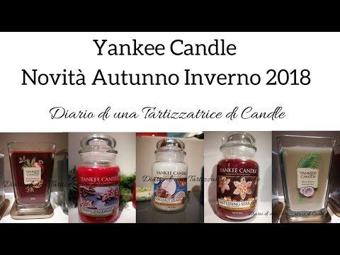 Yankee Candle - Homi Gennaio 2018 - Novità Autunno / Inverno 2018