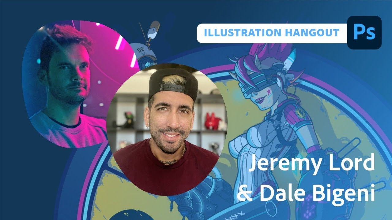 Illustration Hangout with Jeremy Lord and Dale Bigeni - 1 of 2